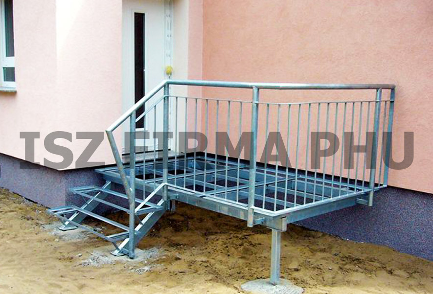 metalltreppe und stahltreppen aus polen zum guten preis. Black Bedroom Furniture Sets. Home Design Ideas