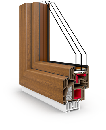 veka fenster aus polen v90. Black Bedroom Furniture Sets. Home Design Ideas
