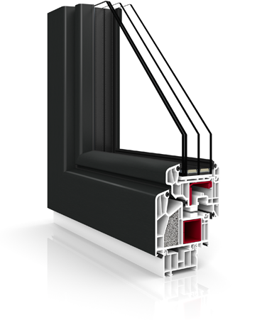 veka fenster aus polen vr90 synergy. Black Bedroom Furniture Sets. Home Design Ideas